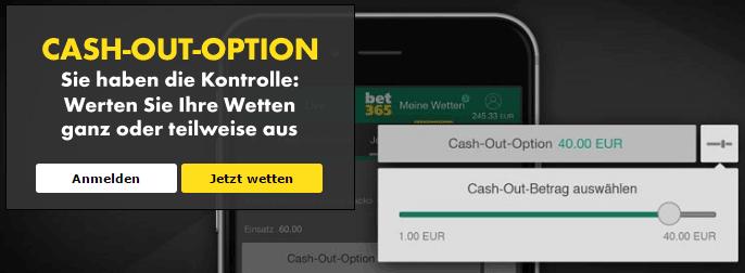 bet365 Cashout