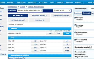 Sportingbet erhöht Neukundenbonus auf 100% bis zu 150 Euro