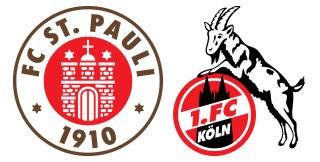 St. Pauli - 1. FC Köln