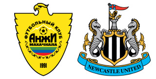 Anzhi Makhachkala - Newcastle United