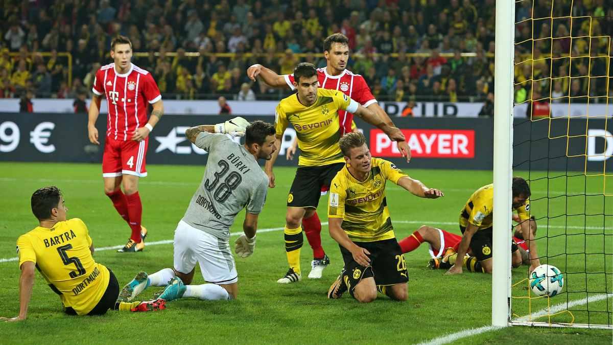 Supercup Bayern München - Borrusia Dortmund