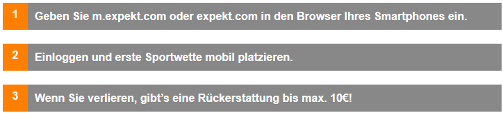 Expekt Mobile Bonus