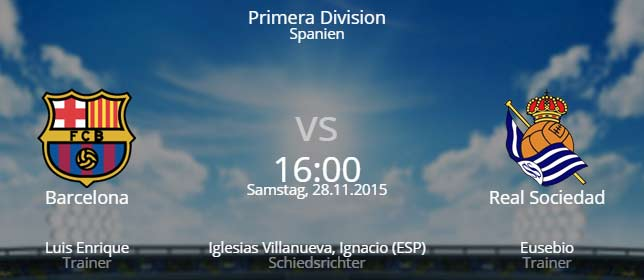 FC Barcelona – Real Sociedad San Sebastian