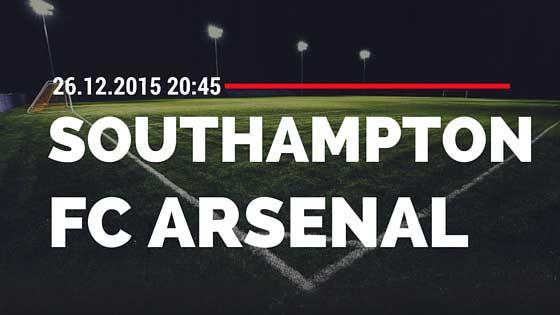 FC Southampton – FC Arsenal 26.12.2015 Tipp