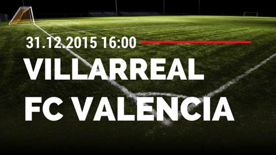 Villarreal – FC Valencia 31.12.2015 Tipp