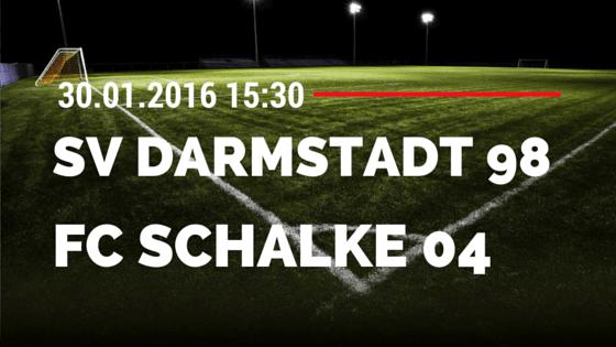 SV Darmstadt 98 - FC Schalke 04 30.01.2016 Tipp