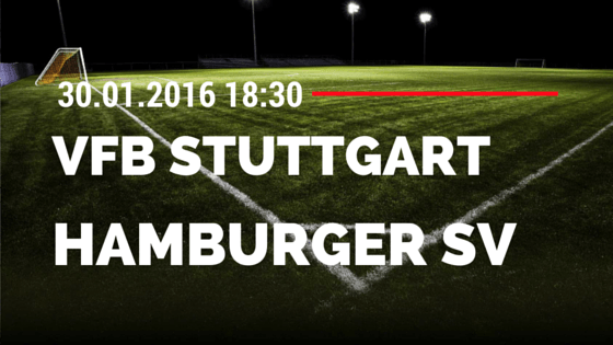 VfB Stuttgart - Hamburger SV 30.01.2016 Tipp