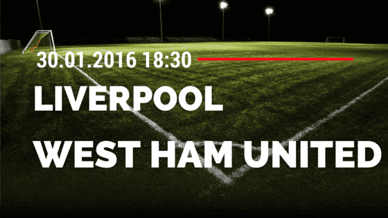 Liverpool - West Ham United 30.01.2016 FA Cup Tipp