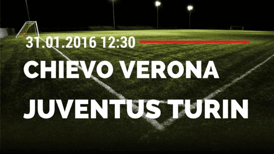 Chievo Verona – Juventus Turin 31.01.2016 Tipp