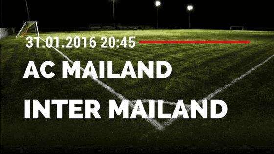 AC Mailand – Inter Mailand 31.01.2016 Tipp