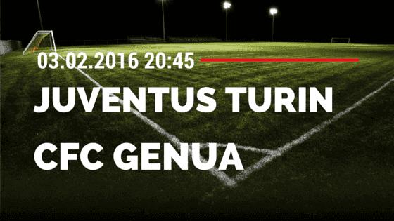 Juventus Turin – CFC Genua 1893 03.02.2016 Tipp