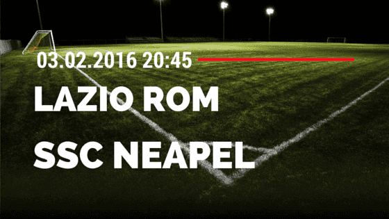 Lazio Rom – SSC Neapel 03.02.2016 Tipp