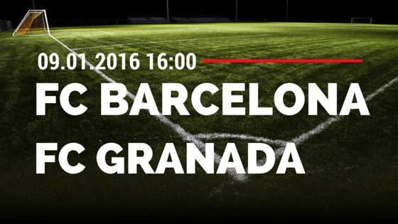 FC Barcelona – FC Granada 09.01.2016 Tipp