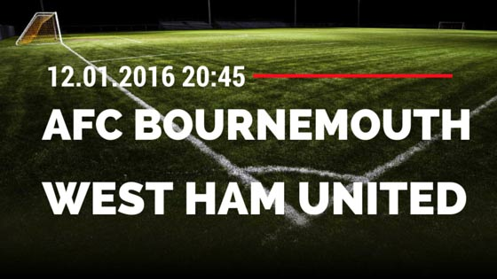 AFC Bournemouth - West Ham United 12.01.2016 Tipp