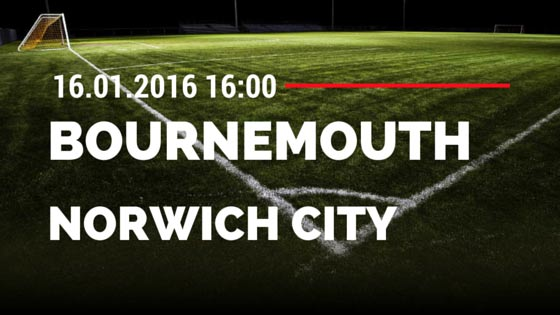 AFC Bournemouth - Norwich City 16.01.2016 Tipp