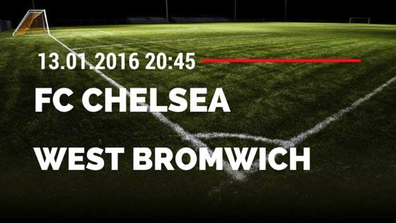 FC Chelsea - West Bromwich Albion 13.01.2016 Tipp