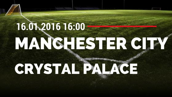 Manchester City - Crystal Palace 16.01.2016 Tipp
