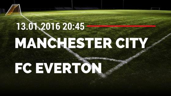 Manchester City - FC Everton 13.01.2016 Tipp