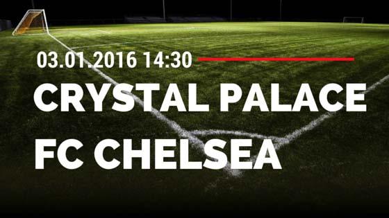 Crystal Palace – FC Chelsea 03.01.2015 Tipp