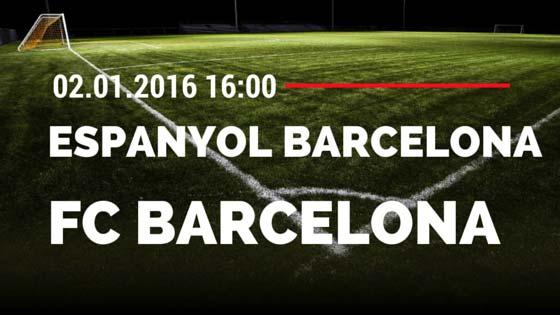 Espanyol Barcelona – FC Barcelona 02.01.2016 Tipp