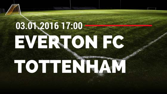 Everton FC - Tottenham Hotspur 03.01.2015 Tipp