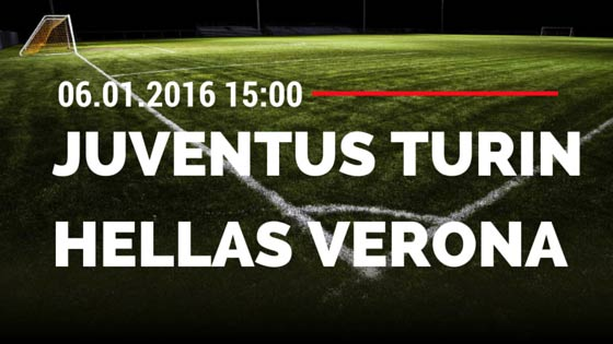 Juventus Turin – Hellas Verona 06.01.2016 Tipp