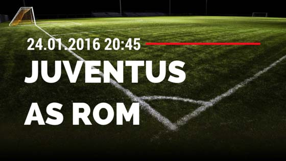 Juventus Turin – AS Rom 24.01.2016 Tipp