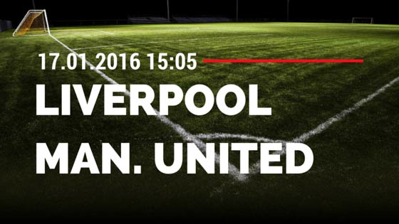 FC Liverpool - Manchester United 17.01.2016 Tipp