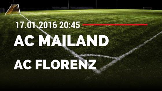 AC Mailand – AC Florenz 17.01.2016 Tipp