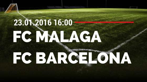 FC Malaga – FC Barcelona 23.01.2016 Tipp