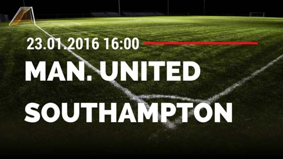 Manchester United – Southampton 23.01.2016 Tipp
