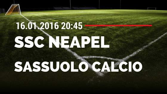 SSC Neapel – Sassuolo Calcio 16.01.2016 Tipp