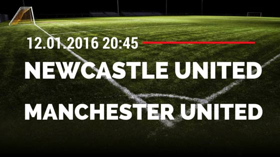 Newcastle United - Manchester United 12.01.2016 Tipp
