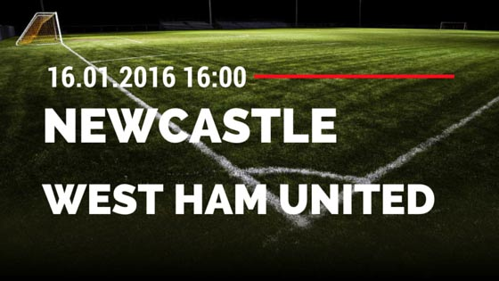 Newcastle United - West Ham United 16.01.2016 Tipp