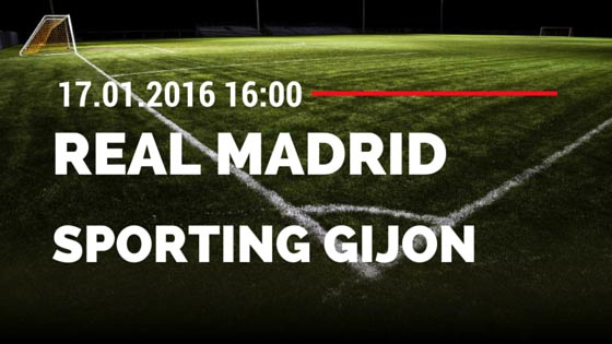 Real Madrid – Sporting Gijon 17.01.2016 Tipp