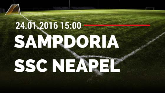 Sampdoria Genua – SSC Neapel 24.01.2016 Tipp