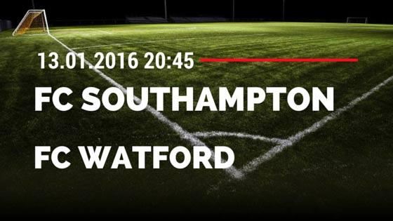 FC Southampton - FC Watford 13.01.2016 Tipp