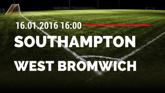 FC Southampton - West Bromwich Albion 16.01.2016 Tipp