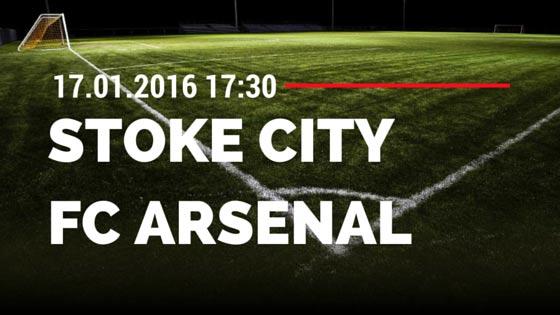 Stoke City - FC Arsenal 17.01.2016 Tipp
