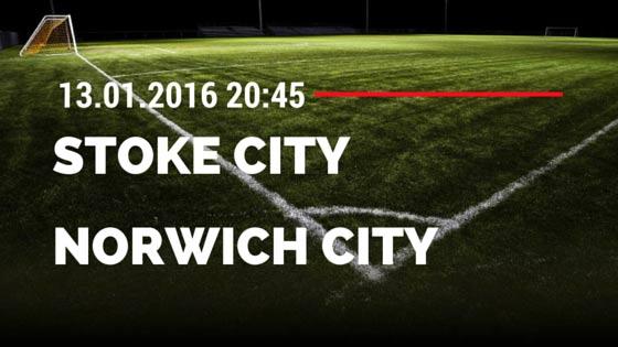 Stoke City - Norwich City 13.01.2016 Tipp