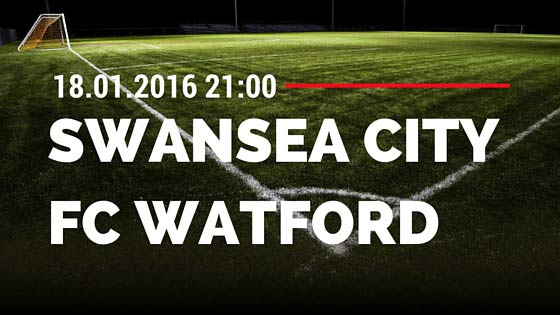 Swansea City - FC Watford 18.01.2016 Tipp