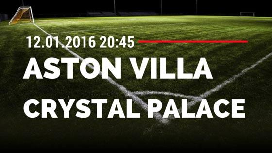 Aston Villa - Crystal Palace 12.01.2016 Tipp