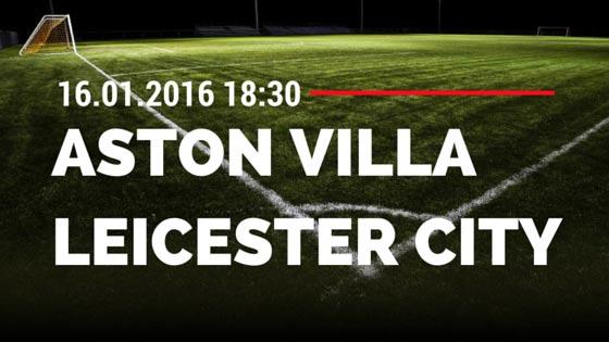 Aston Villa - Leicester City 16.01.2016 Tipp