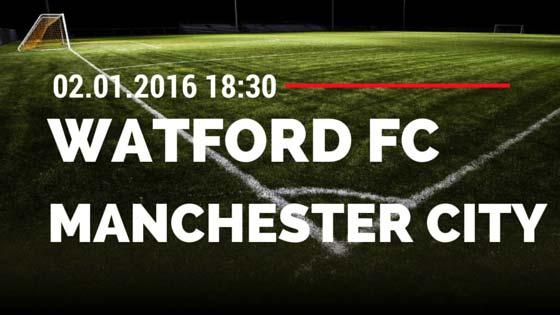 Watford FC – Manchester City 02.01.2016 Tipp