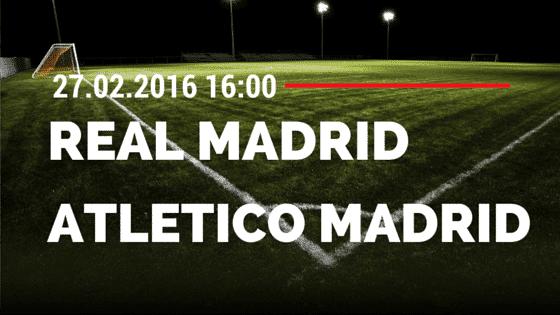 Real Madrid – Atletico Madrid 27.02.2016 Tipp