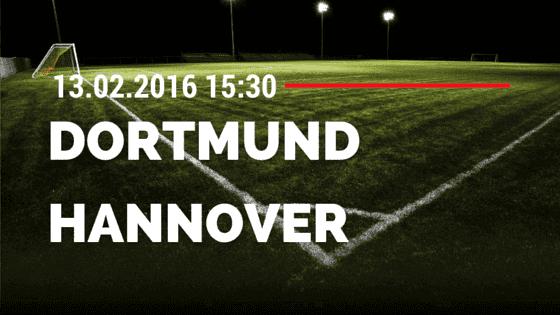 Borussia Dortmund - Hannover 96 13.02.2016 Tipp