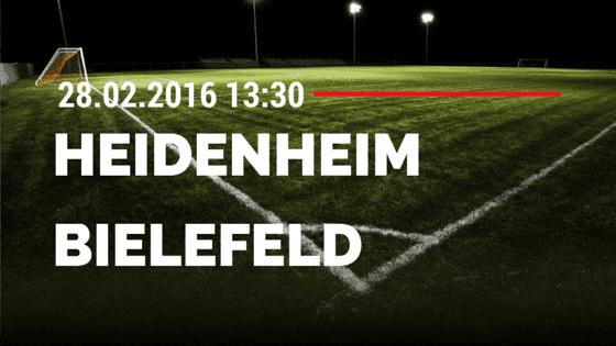 1. FC Heidenheim – Arminia Bielefeld 28.02.2016 Tipp