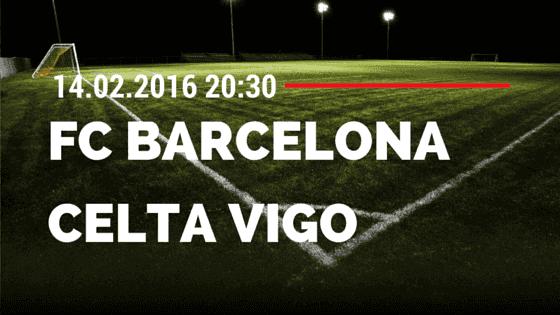 FC Barcelona – Celta Vigo 14.02.2016 Tipp