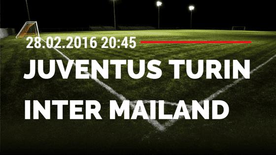 Juventus Turin – Inter Mailand 28.02.2016 Tipp