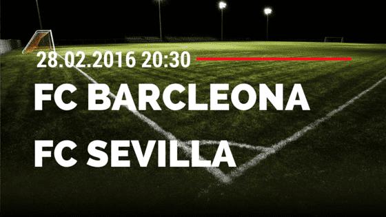 FC Barcelona – FC Sevilla 28.02.2016 Tipp
